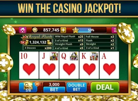 video poker sin conexión gratuita APK Android