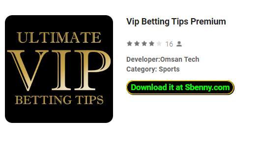 Vip Betting Tips Premium APK Download