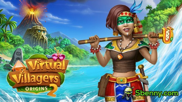 Virtual Villagers Origins 2 Unlimited Lava Stones MOD APK
