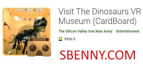 visit the dinosaurs vr museum cardboard
