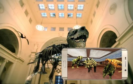 visit the dinosaurs vr museum cardboard APK Android