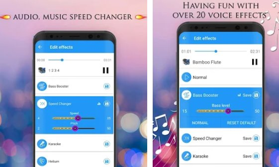 voice changer audio effects APK Android