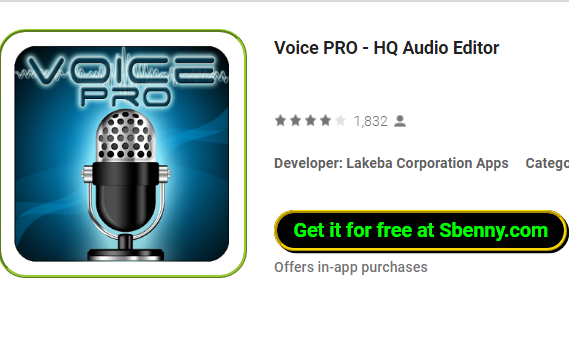 Voice PRO - HQ Audio Editor APK for Android Free Download