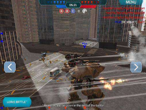 Walking War Robots MOD APK Android Free Download