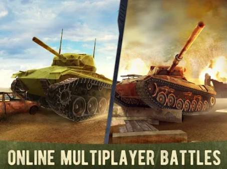 war machines free multiplayer tank shooting games APK Android