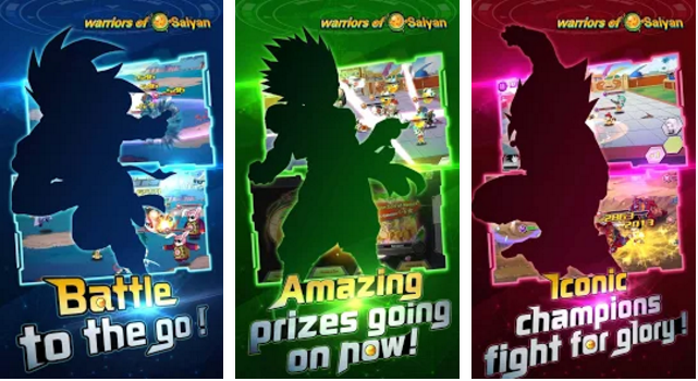 warriors of saiyan dream squad APK Android