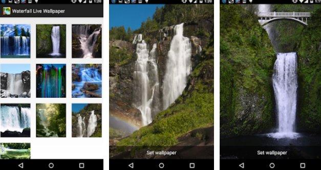 Waterfall Live Wallpaper + MOD