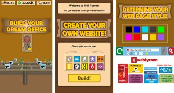 Web Tycoon MOD APK Android Free Download