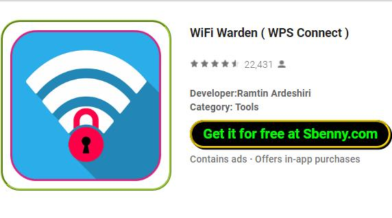 WiFi Warden ( WPS Connect ) MOD APK for Android Download