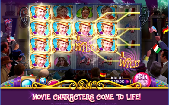 willy wonka slots free casino APK Android