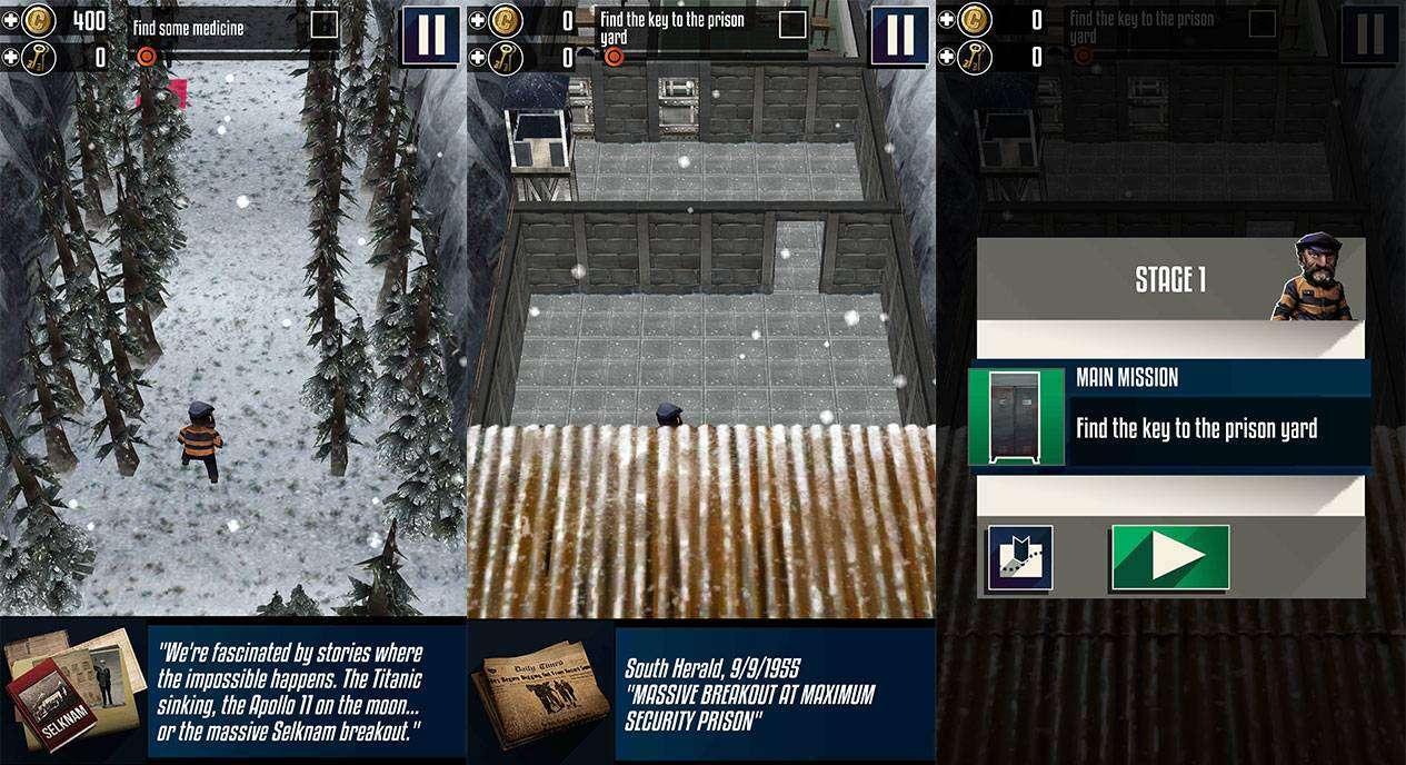 Winter Flüchtigen 2 APK Android Chroniken