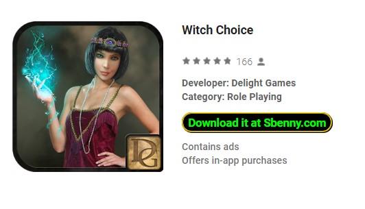 choix de sorcière