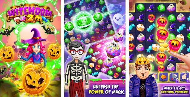 witchdom 2 halloween games and witch games