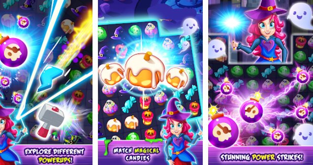 witchdom 2 halloween games and witch games APK Android