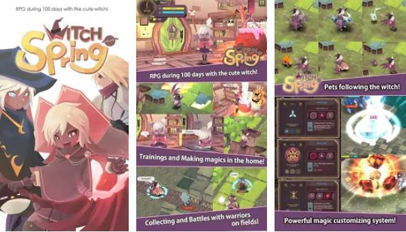 WitchSpring Unlimited Money MOD APK Free Download