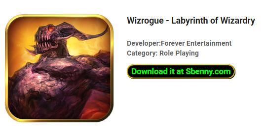 wizrogue labyrinthe de la sorcellerie