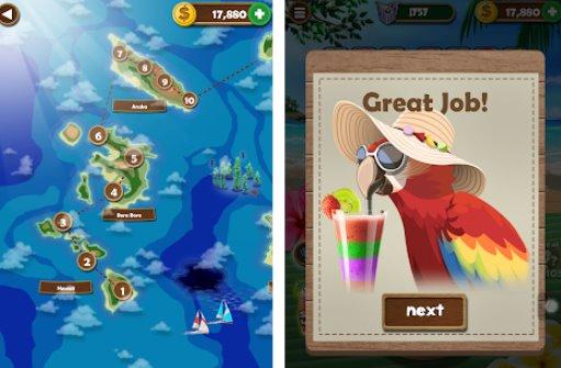 parola spiaggia collegare lettere giochi di ricerca parola divertente APK Android