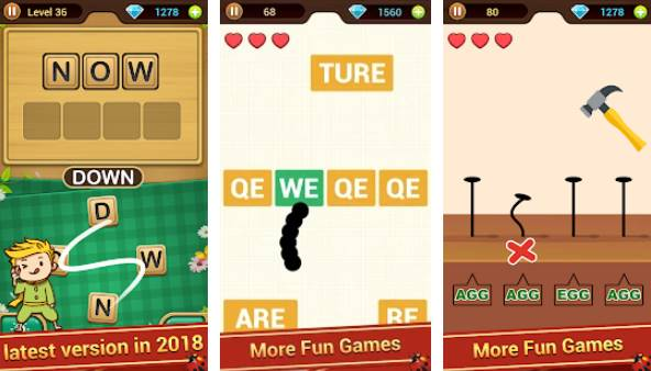 Word Link Unlimited Diamonds MOD APK Free Download