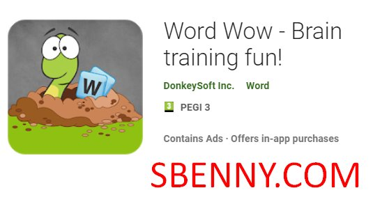 Word Wow - Brain training fun! Unlimited bombs MOD APK
