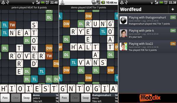 Wordfeud, The Crossword Game