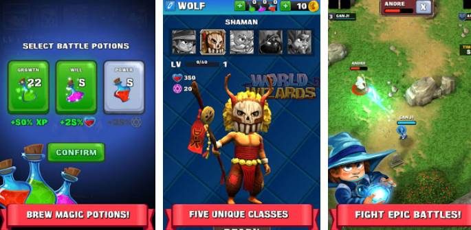 world of wizards APK Android