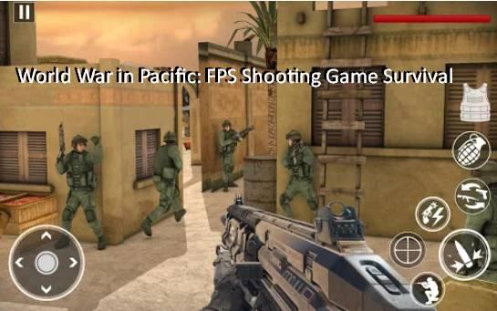guerre mondiale dans la survie du jeu de tir fps pacifique
