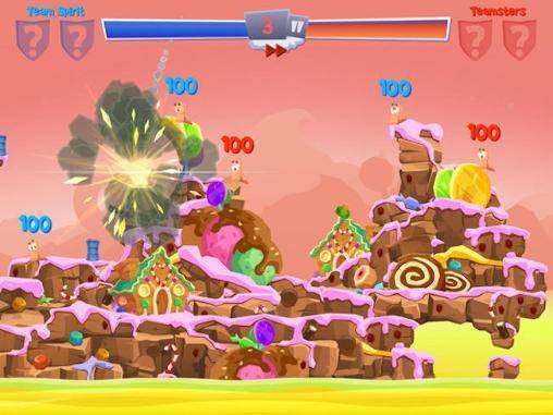 Worms 4 Full APK Android Game Free Download