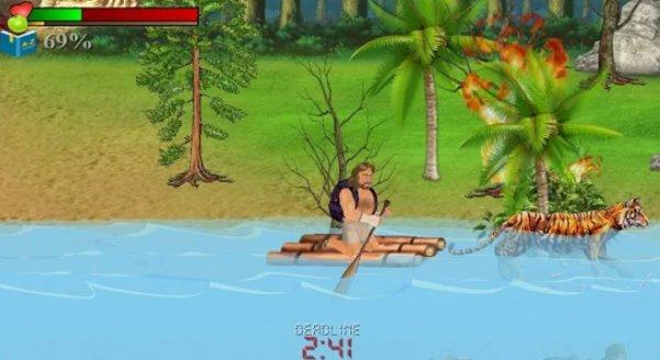 zerstörte Insel Überleben sim APK Android