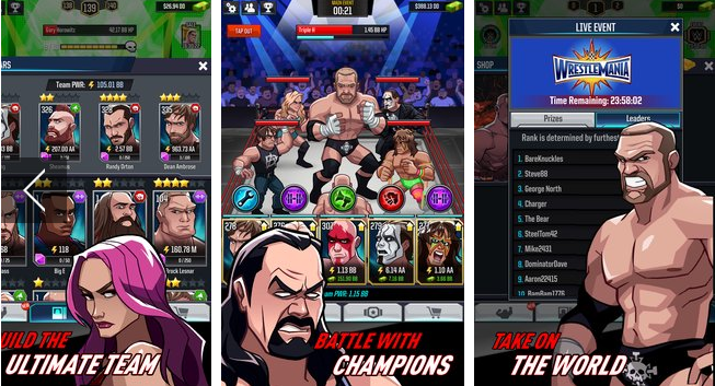 wwe tap mania APK Android