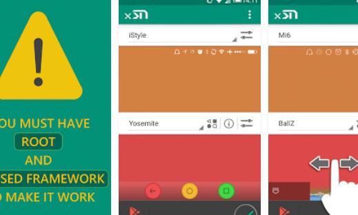 xstana navbars et Statusbars APK pour Android