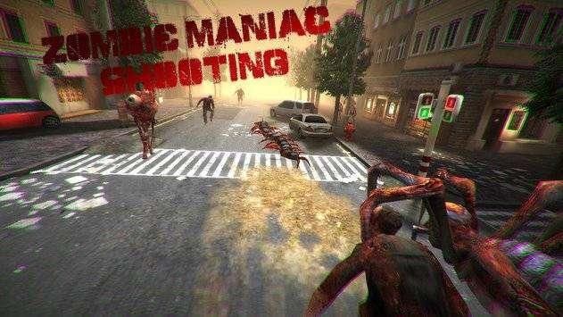 Caza al zombi MANIACO