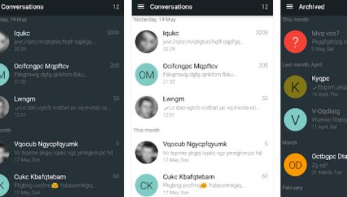 yaata sms mms mensajería APK Android