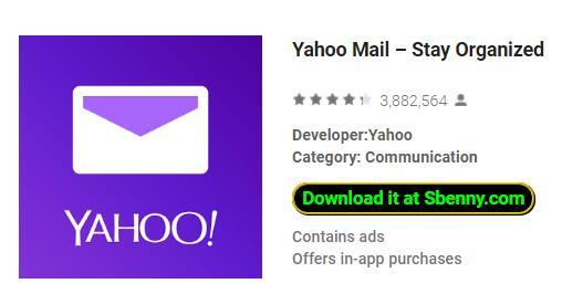 Yahoo Mail – Stay Organized APK Android Free Download