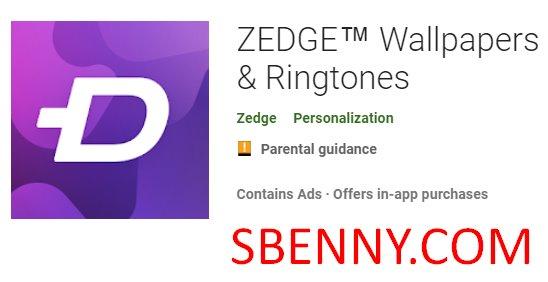 Zedge fondos de pantalla y tonos de llamada