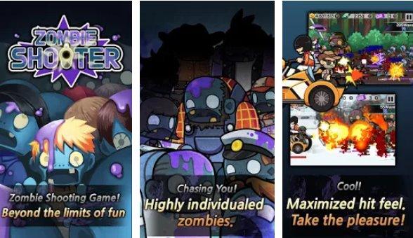 zombie defence premium tap game