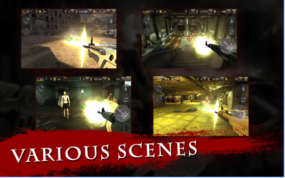 zombi demonios 2 fps masacre APK Android
