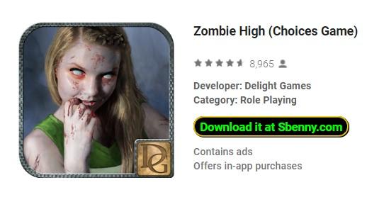 juego de altas elecciones zombie
