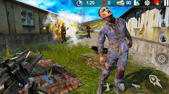 Zombie Hunter: War of The Dead MOD APK Android Download