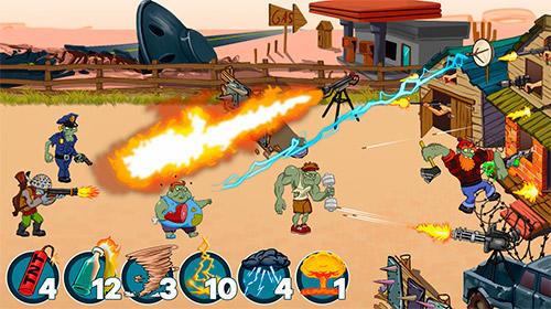 Batalla zombie ranch con el zombie APK Android