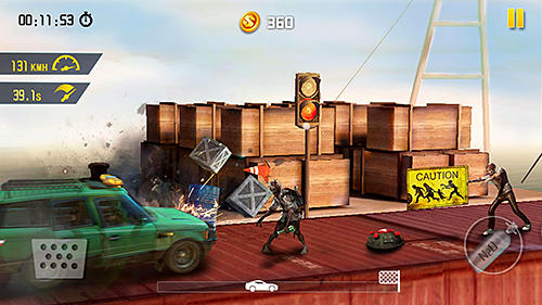 zombie road escape smash all the zombies on road APK Android