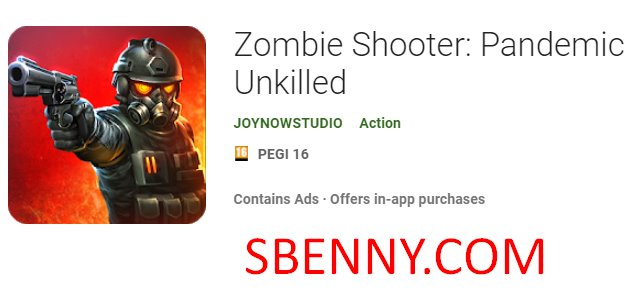 zombie shooter pandemic unkilled