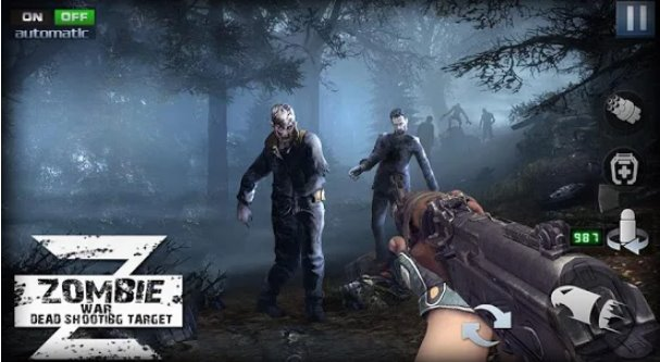 download game zombie shooter death shooting mod apk
