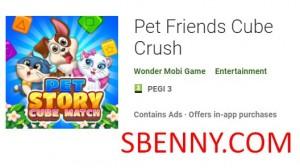 Pet Friends Cube Crush + MOD