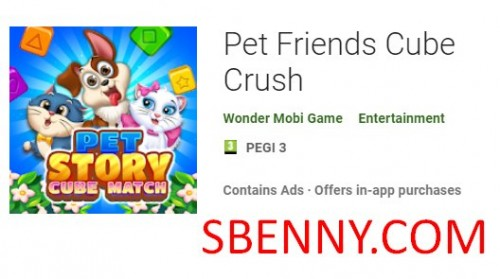 Pet Friends Cube Crush + MOD