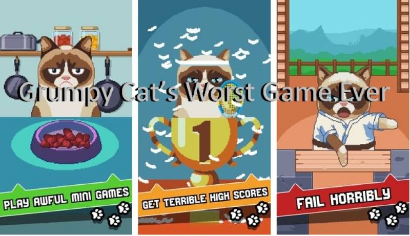 Grumpy Cat's Worst Game Ever MOD APK Android Free Download
