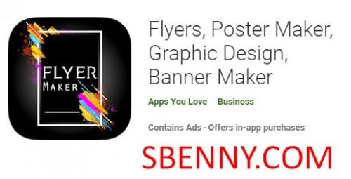 بروشور ، پوستر ساز ، طراحی گرافیک ، بنر ساز + MOD
