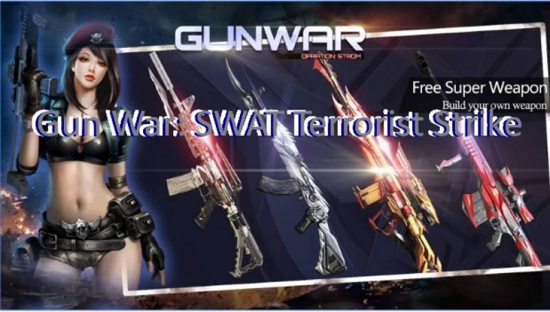 Gun War: SWAT Terrorist Strike MOD APK Android Download