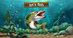 Let's Fish: Sport Fishing Games. Bass simulator + MOD