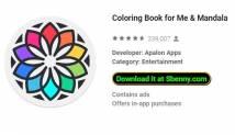 Livre de coloriage pour moi & amp; Mandala + MOD