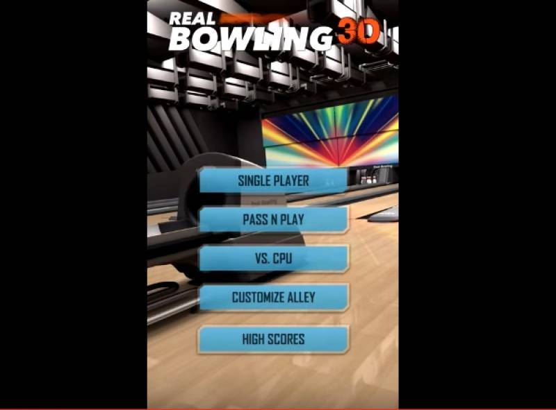 Bowling Real 3D Plus